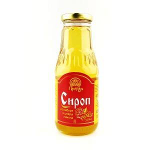 Сироп из имбиря и цедры лимона