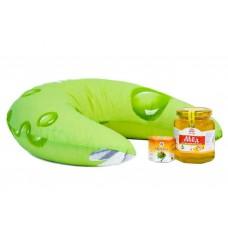 Подушка медово-прополисная полумесяц