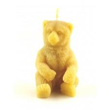 """Восковая свеча """"Медведь"""""""