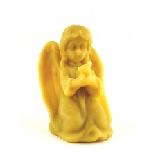 Восковая фигурка Ангелочка с птицей